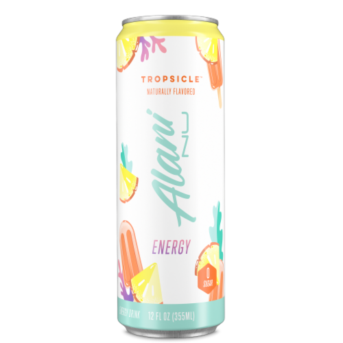 Alani NU Tropsicle Energy Drink Perspective: front