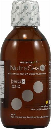 Ascenta  NutraSea HP™ Omega-3   Zesty Lemon Perspective: front
