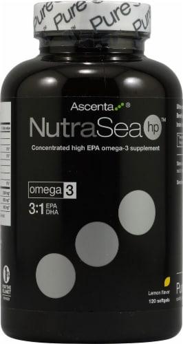 Ascenta  NutraSea HP™   Lemon Perspective: front