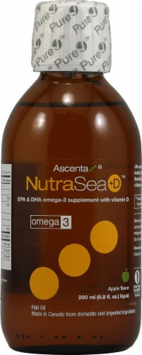 Ascenta  NutraSea +D™   Apple Perspective: front