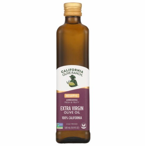 California Olive Ranch Arbequina Fresh & Fruity Extra Virgin Olive Oil Perspective: front