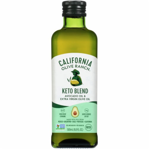 California Olive Ranch Keto Blend Avocado Oil & Extra Virgin Olive Oil Perspective: front