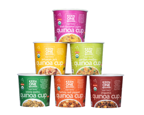 Keen One Quinoa Cup Variety Pack Perspective: front