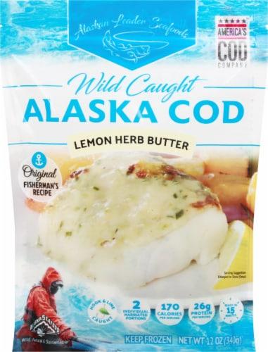 Alaskan Leader Seafoods Wild Caught Alaska Cod Perspective: front