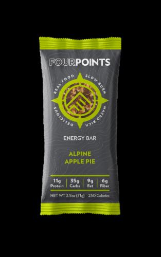 Fourpoints Alpine Apple Pie Energy Bar Perspective: front
