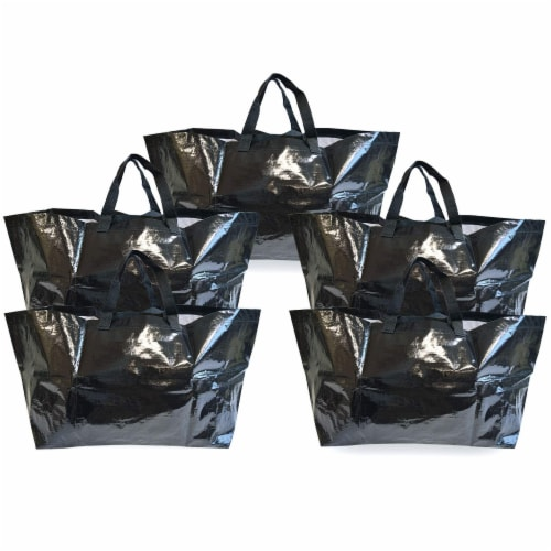 Prime Line Packaging Large Tote Bags for Carrying Bulk Items, Storage Shopping Bags Perspective: front