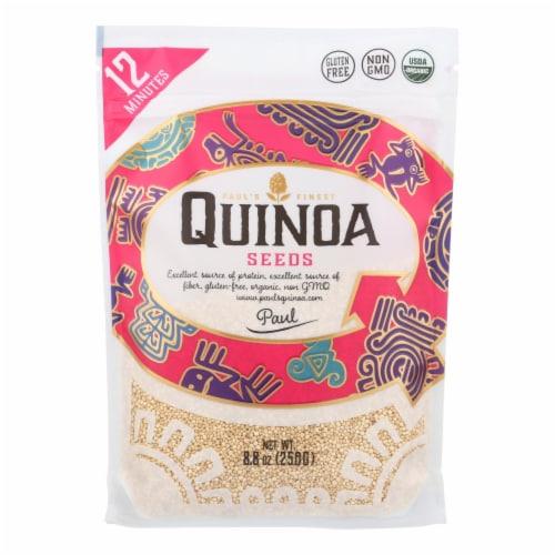 Paul`s Quinoa - Seeds Quinoa - Case of 7 - 8.8 OZ Perspective: front