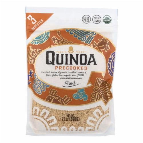 Paul`s Quinoa - Seeds Quinoa Precookd - Case of 7 - 7.1 OZ Perspective: front