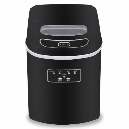 Whynter IMC-270MB 27 lbs Compact Portable Ice Maker - Black Perspective: front