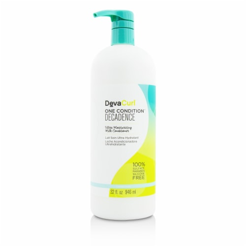DevaCurl One Condition Decadence (Ultra Moisturizing Milk Conditioner  For Super Curly Hair) Perspective: front