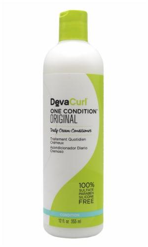 Devacurl One Condition Original Daily Cream Conditioner Perspective: front