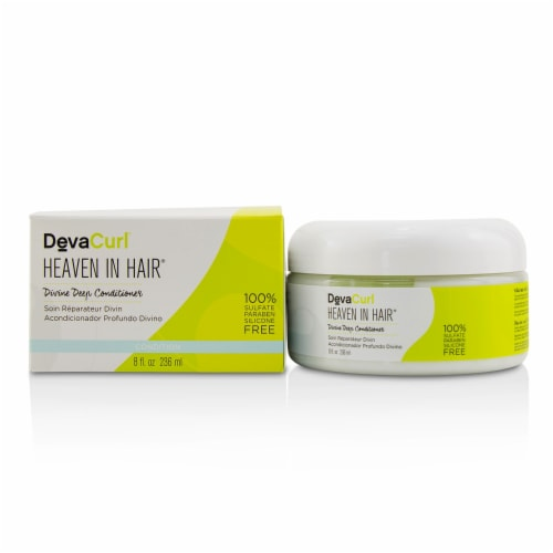 DevaCurl Heaven In Hair (Divine Deep Conditioner  For All Curl Types) 236ml/8oz Perspective: front