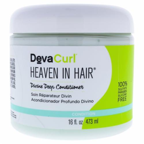 DevaCurl Heaven In Hair Intense Moisture Treatment 16 oz Perspective: front