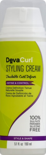 DevaCurl Touchable Curl Definer Styling Cream Perspective: front