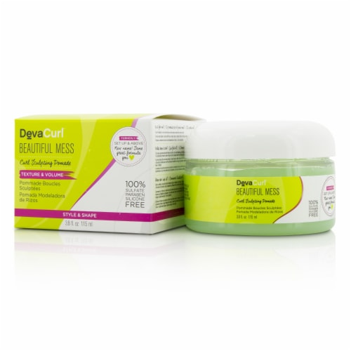 DevaCurl Beautiful Mess (Curl Sculpting Pomade  Texture & Volume) 115ml/3.8oz Perspective: front