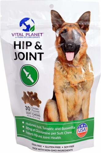 Vital Planet  Hip & Joint For Dogs   Chicken Perspective: front