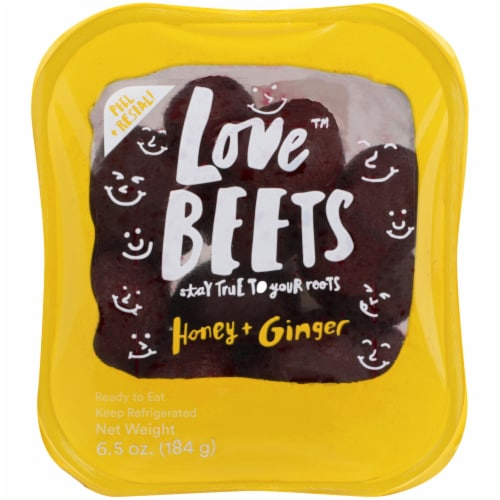 Love Beets Honey & Ginger Beets Perspective: front
