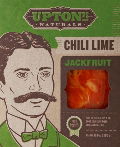 Upton's Naturals Chili Lime Jackfruit Perspective: front