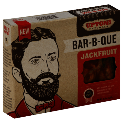 Upton's Naturals Bar-B-Que Jackfruit Perspective: front