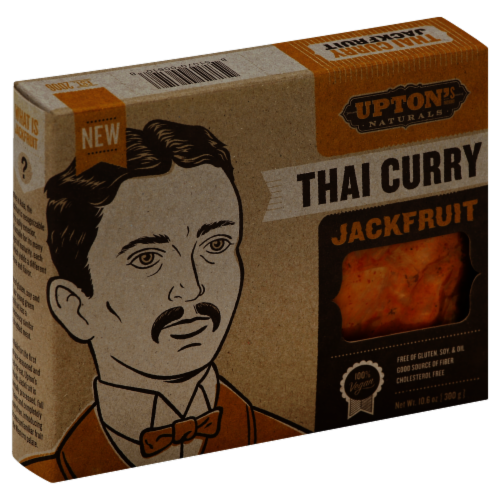 Upton's Naturals Thai Curry Jack Fruit Perspective: front
