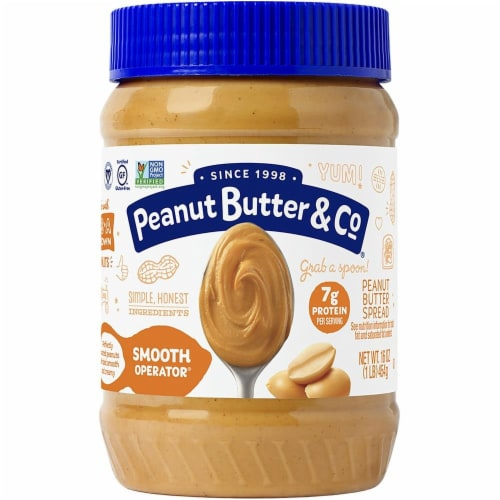 Peanut Butter & Co. Smooth Operator Creamy Peanut Butter Perspective: front