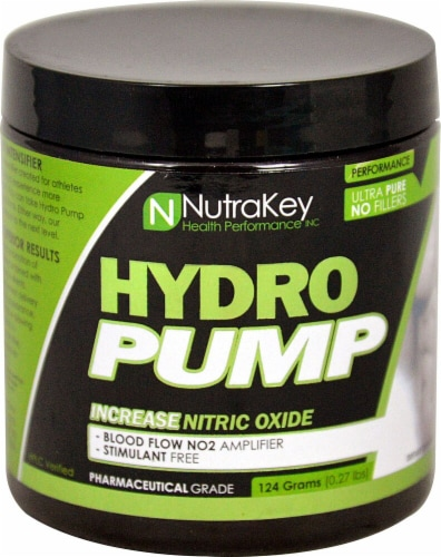 NutraKey  Hydro Pump   Unflavored Perspective: front