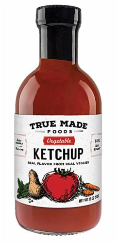 True Made Foods Vegetable Ketchup Perspective: front