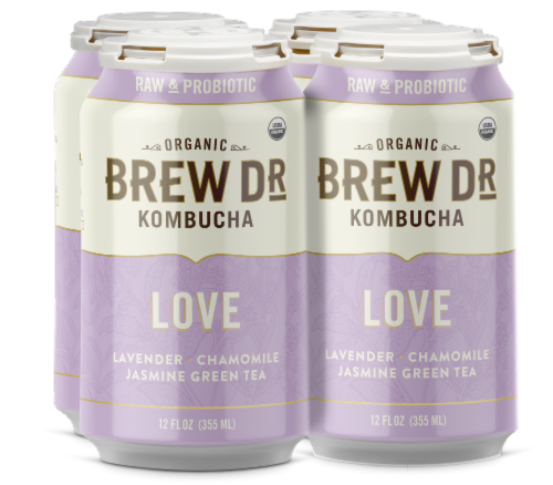 Brew Dr. Love Kombucha Perspective: front