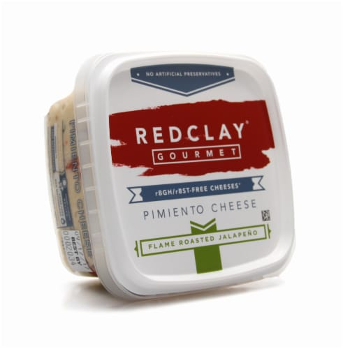 Redclay Gourmet Flame Roasted Jalapeno Pimiento Cheese Perspective: front
