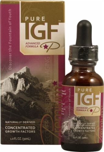 Pure Solutions  Pure IGF Advanced Formula Perspective: front