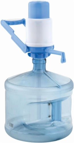 Primo Water Manual Pump - Baby Blue Perspective: front