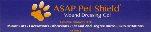 American Biotech Labs  ASAP Pet Shield® Wound Dressing Gel Perspective: front