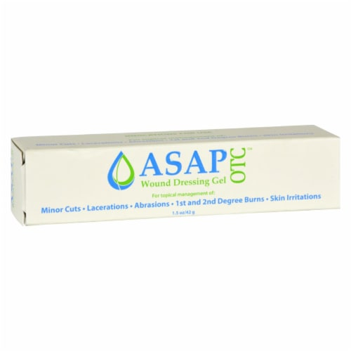 American Biotech Labs - Wound Dressing Gel - 1.5 oz Perspective: front