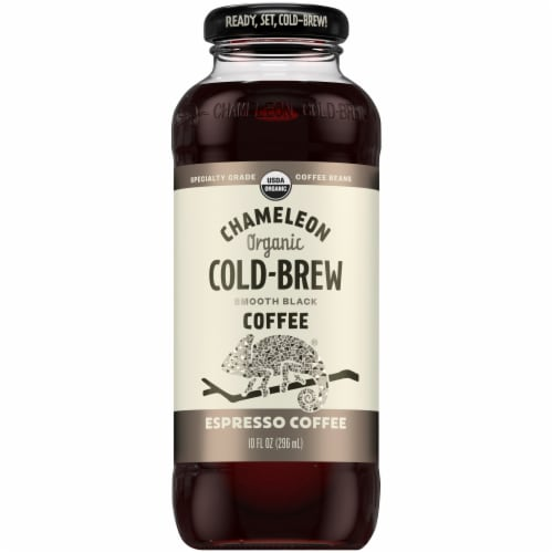 Chameleon Cold-Brew Espresso Smooth Black Coffee Perspective: front