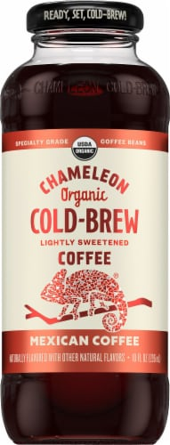 Chameleon Cold Brew Mexican Coffee Perspective: front