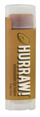 Hurraw! Balm  Lip Balm   Chocolate Perspective: front