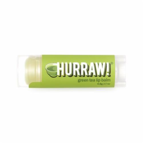 Hurraw! Balm  Lip Balm   Green Tea Perspective: front