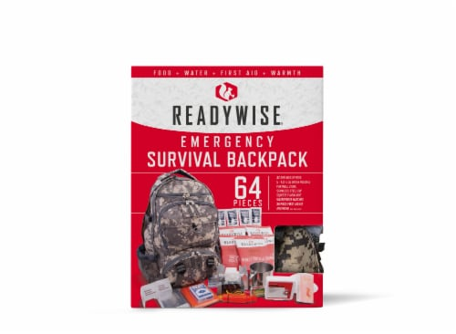 ReadyWise Emergency Survival Backpack - Camouflage Perspective: front