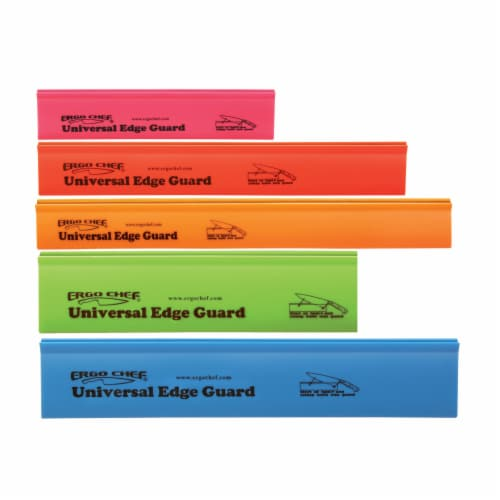 Chef Gear 5 Piece Knife Edge Guard Set Multi-Color Perspective: front