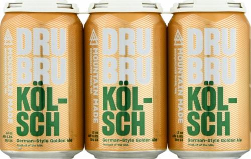 Dru Bru Kolsch German-Style Golden Ale Perspective: front