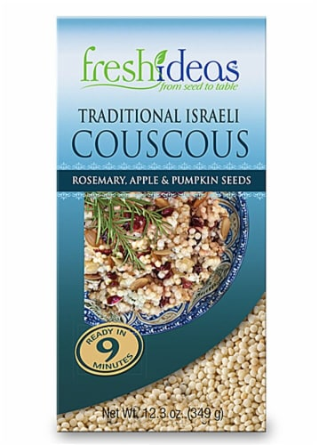FreshIdeas Rosemary Apple & Pumpkin Seeds Traditional Iraeli Couscous Perspective: front