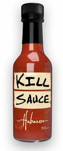 Kill Sauce Habanero Hot Sauce Perspective: front