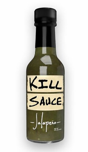 Kill Sauce Jalapeno Hot Sauce Perspective: front