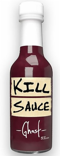 Kill Sauce Ghost Hot Sauce Perspective: front