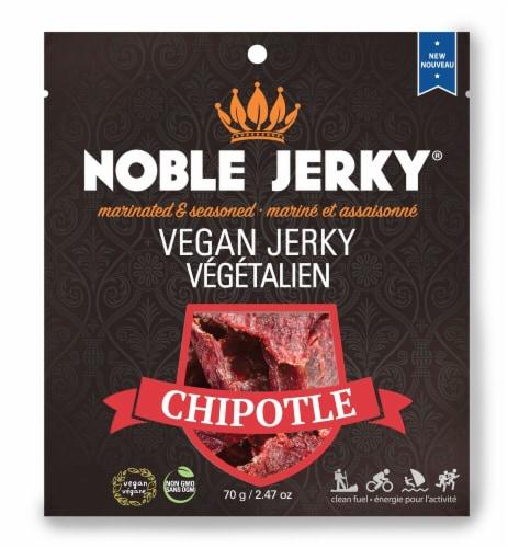 Noble Jerky  Vegan Jerky   Chipotle Perspective: front