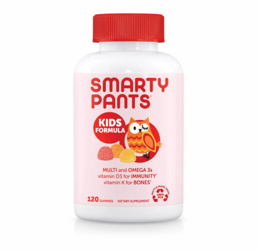 Smarty Pants Kids MultiVitamin Gummy Perspective: front