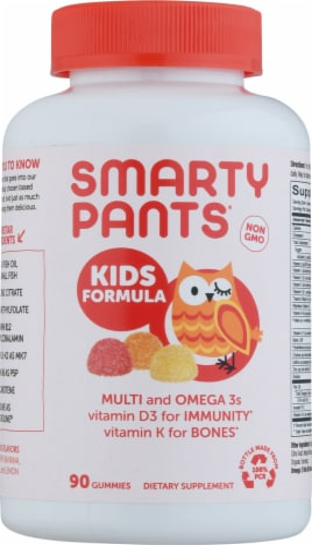 SmartyPants Kids Complete Multivitamin Gummies Perspective: front