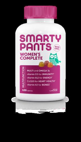 SmartyPants Women's Complete Multifunction Supplement Gummies Perspective: front