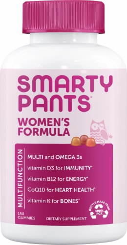 SmartyPants  Women's Complete Multivitamin Perspective: front