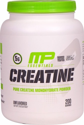 MusclePharm  Essentials Creatine   Unflavored Perspective: front